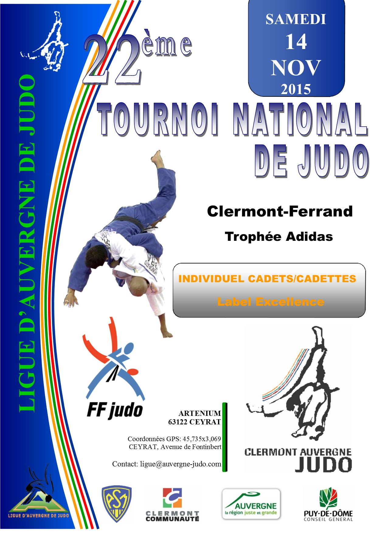 emma russaouen sur le podium clermont ferrand amicale judo rennes. Black Bedroom Furniture Sets. Home Design Ideas